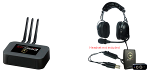 Eternytime professional timing Aviation GA ANR PNR Headset