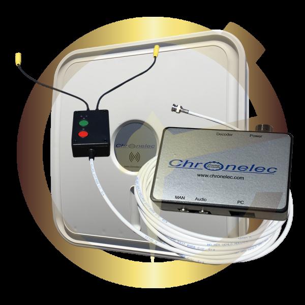 Eternytime professional timing Chronelec decoder RF transponder chip