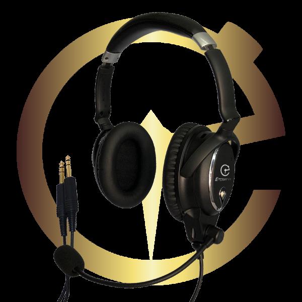 Eternytime professional timing Aviation GA ICOM Headset ANR PNR