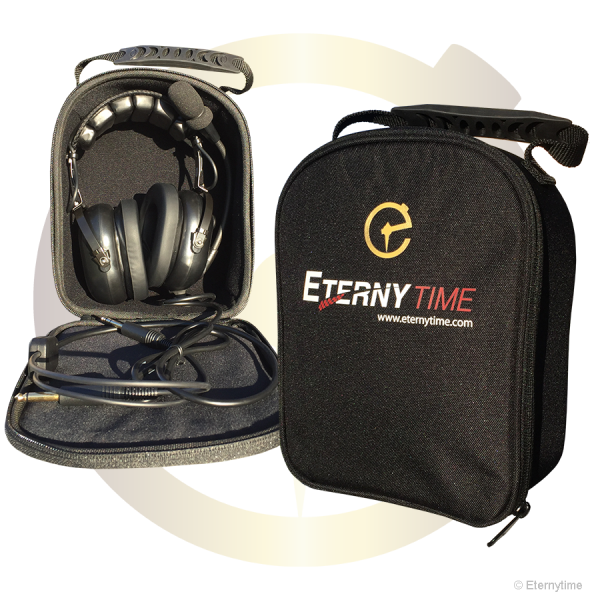 Eternytime professional timing Aviation GA ANR PNR Headset bag