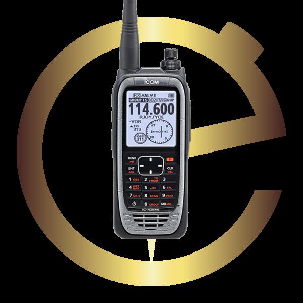Eternytime professional timing Aviation GA ICOM IC-A25NE