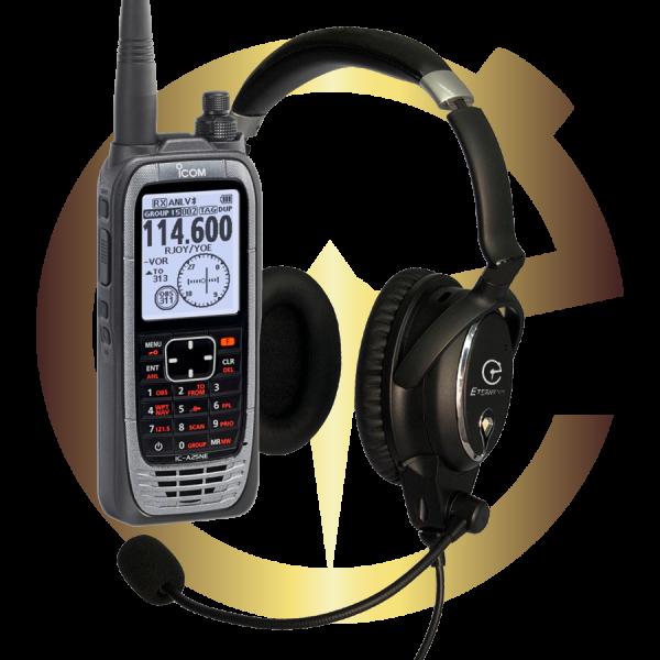 Eternytime professional timing Aviation GA Headset radio