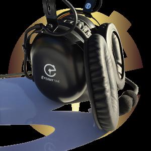 Headset, earpad, cushion, TAG Heuer, David Clarke, Eternytime
