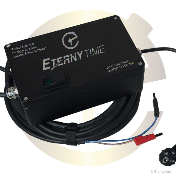Eternytime power supply PSU alimentation etanche 12V 30A